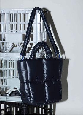 First Base X Urban Status Fashionably Sporty Mini Puff Tote Bag | Neo
