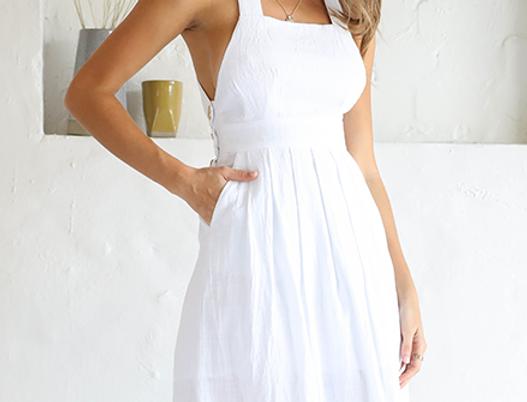 Seven Wonders the Label, Crossback Dress | White