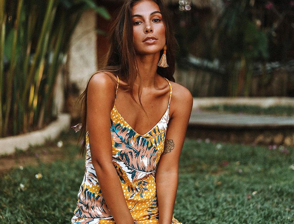 Le- Salty Label, Havana Midi Dress | Amber
