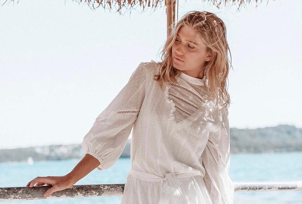 Three of Something, Incarnation Dress | White