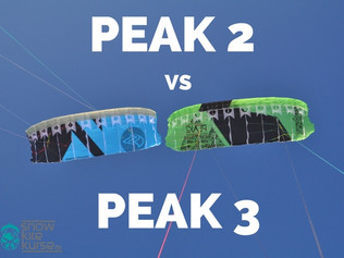 Flysurfer PEAK2 vs PEAK3