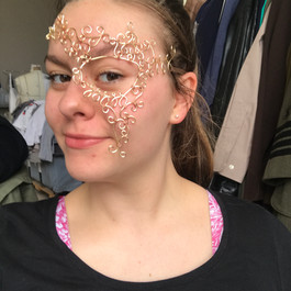 Wire Mask Complete (for Romeo and Juliet)