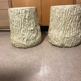 Tree Stumps before Painting