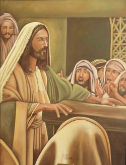 Jesus Cristo Pregando
