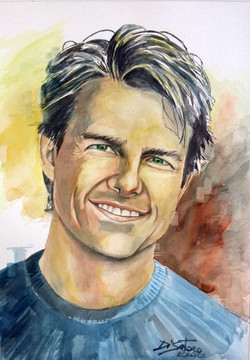 Retrato Tom Cruise