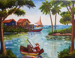 O pescador