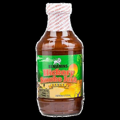 Benjamins Hickory Smoke Jerk Sauce