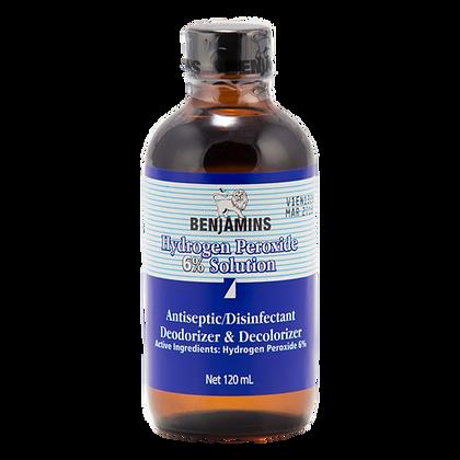 Benjamins Hydrogen Peroxide 6% Solution