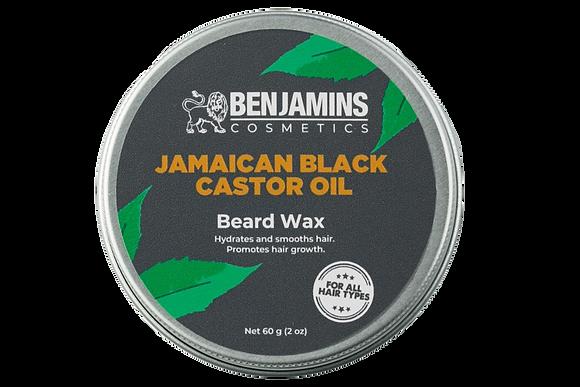 Benjamins Cosmetics Jamaican Black Castor Oil Beard Wax