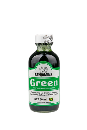 Benjamins Green Artificial Food Colouring