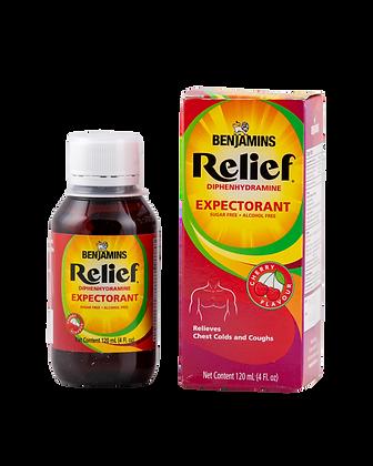 Benjamins Relief Diphenhydramine Expectorant