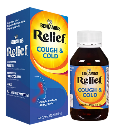 Benjamins Relief Cough & Cold