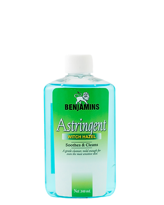 Benjamins Astringent with Witch Hazel