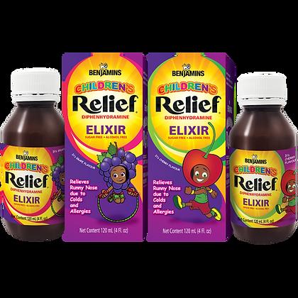 Benjamins Children's Relief Diphenhydramine Elixir