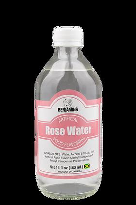 Benjamins Artificial Rose Water Food Flavouring