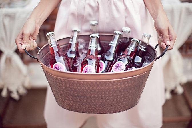 Custom Cocktails and bottles for wedding dripping springs, tx - weddingdaygirl.com