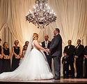 wedding drape custom design wedding planner austin tx - black and white chandelier