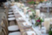luxury-wedding-planner-austin-texas-wedding-designed-table-pink-gold-wood-tables