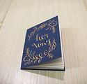 vow books - ceremony books for wedding ceremony or elopement - navy wedding - austin tx