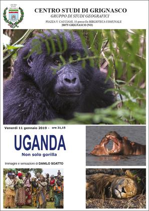 """Proiezione """"Uganda"""" di Danilo Soatto"""