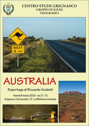 """[Evento rinviato] Proiezione """"Australia"""" di Riccardo Guidetti"""