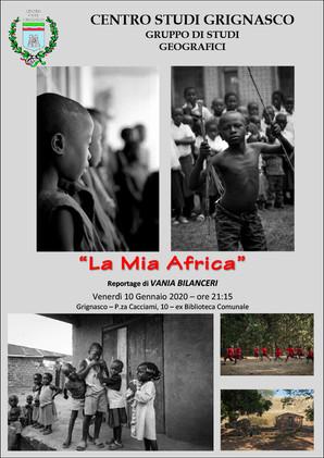"""Proiezione """"La mia Africa"""""""