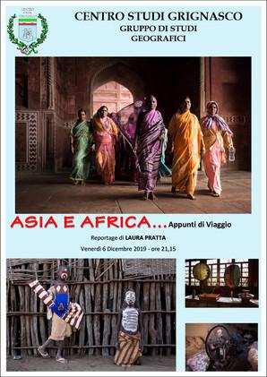 Proiezione Asia e Africa... Appunti di Viaggio di Laura Pratta