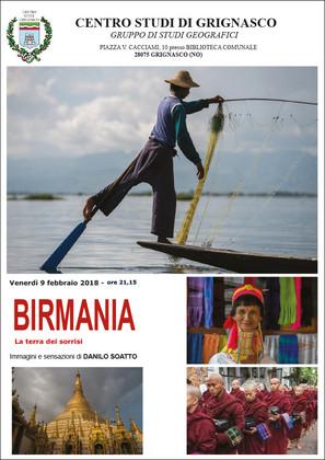 """Proiezione """"Birmania"""" di Danilo Soatto"""