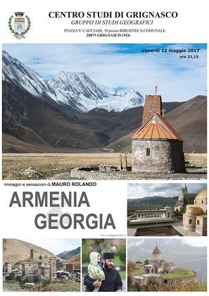 """Proiezione """"Armenia e Georgia"""" di Mauro Rolando"""