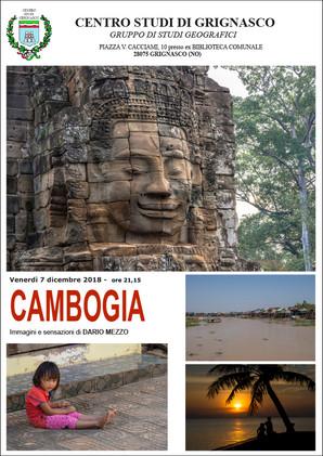 """Proiezione """"Cambogia"""" di Dario Mezzo"""