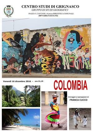 """Proiezione """"Colombia"""" di Franca Cucco"""