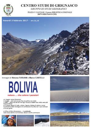 """Proiezione """"Bolivia"""" di Simona Turuani e Marco Castelli"""