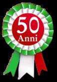 Logo anniversario 50 anni