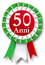 Coccarda 50 anni