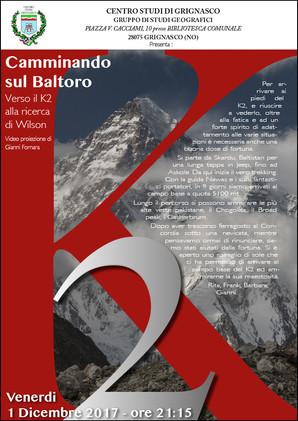 """Proiezione """"Pakistan - K2, camminando sul Baltoro"""" di Gianni Fornara"""