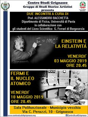 Incontri con il Prof. Alessandro Bacchetta