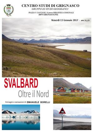 """Proiezione """"Svalbard"""" di Emanuele Borelli"""