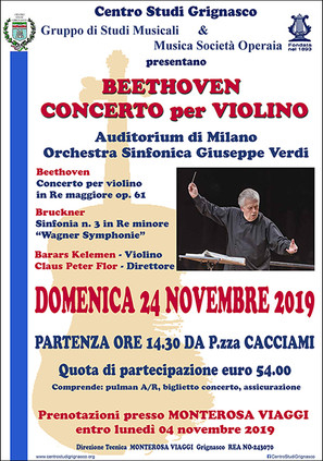 Beethoven - Concerto per Violino