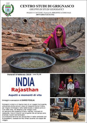 "Proiezione ""India - Rajastan"" di Dario Foglia"