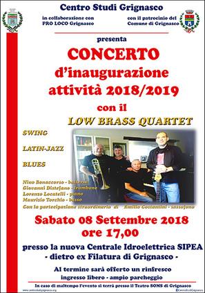 Concerto inaugurale delle attività 2018-2019