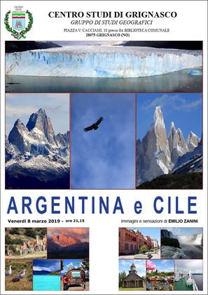 Proiezione Argentina e Cile di Emilio Zanini