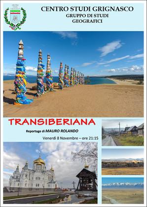 Proiezione Siberia - Transiberiana