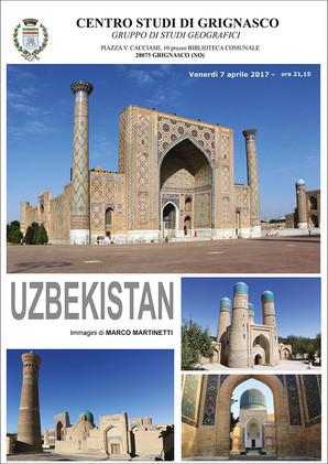 """Proiezione """"Uzbekistan"""" di Marco Martinetti"""
