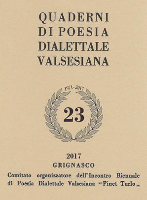 """XXIV Edizione dell'Incontro Biennale di Poesia Dialettale """"Pinet Turlo"""""""