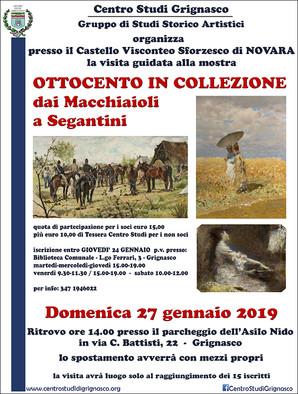 Visita guidata alla mostra Ottocento in Collezione - dai Macchiaioli ai Segantini
