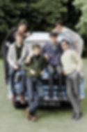Confederates with the new Dormobile Van