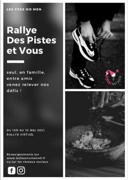 """#5 - Rallye """"Des Pistes et Vous"""""""