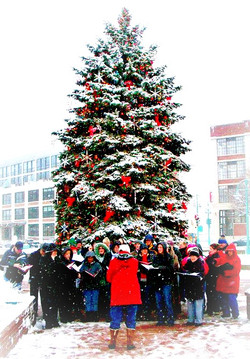 Chorale Christmas Caroling