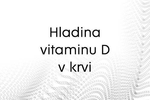 Poukaz na určení hladiny vitamínu D