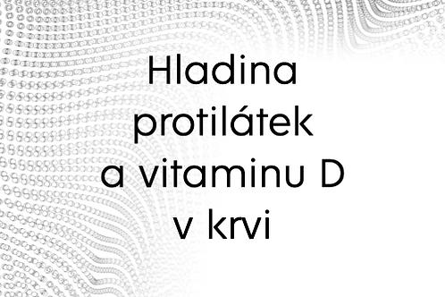 Poukaz na určení COVID-19 protilátek a hladiny vitamínu D